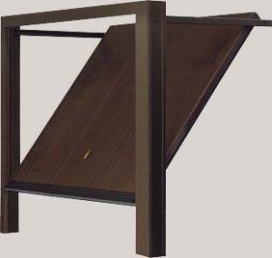 Basculante in legno modello Filo