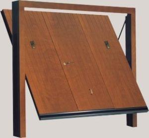 Basculante in legno modello Vertical Small
